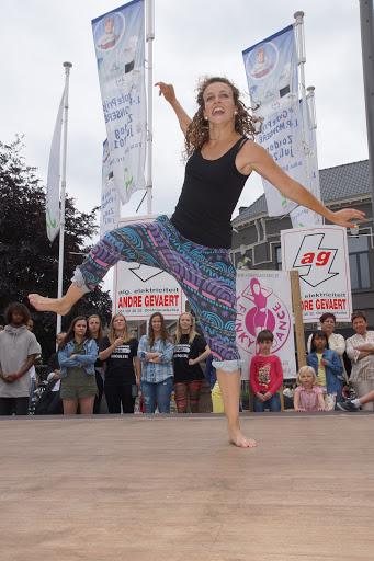 dansoptreden Morgane uit SYTYCD