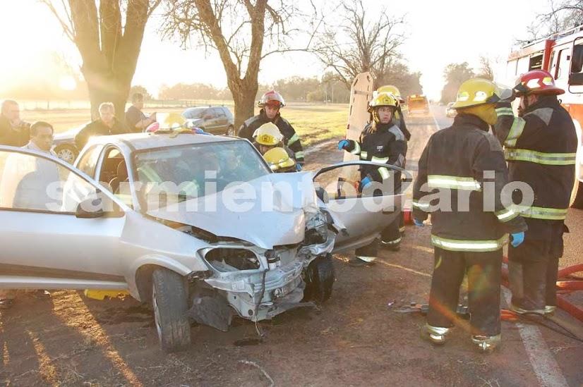 Accidente en Ruta  Km 146
