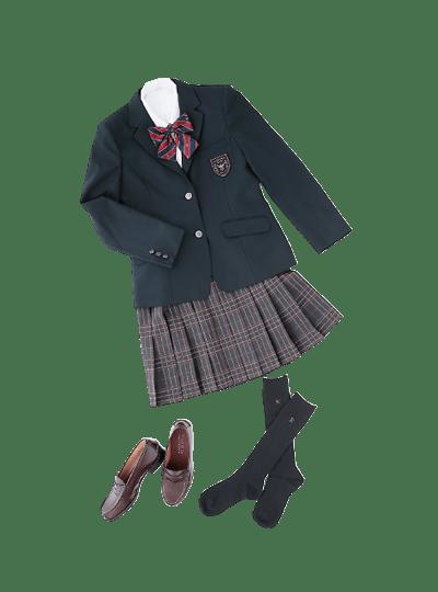 関東第一高等学校の女子の制服3
