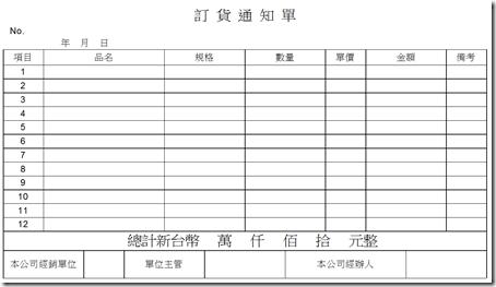 LibreOffice Calc萬用表格:採購庫存管理表格 / LibreOffice Calc Templates: For Stock Management - 布丁布丁吃什麼?