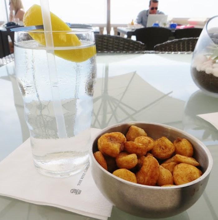 Complimentary Nuts - 180blu Ritz Carlton Laguna Niguel
