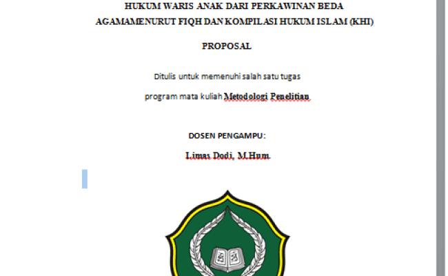 Contoh Proposal Skripsi Hukum Cute766