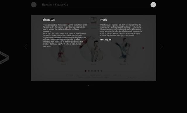 *黑白裡帶出彩色的網站:Subsens Web Site 7