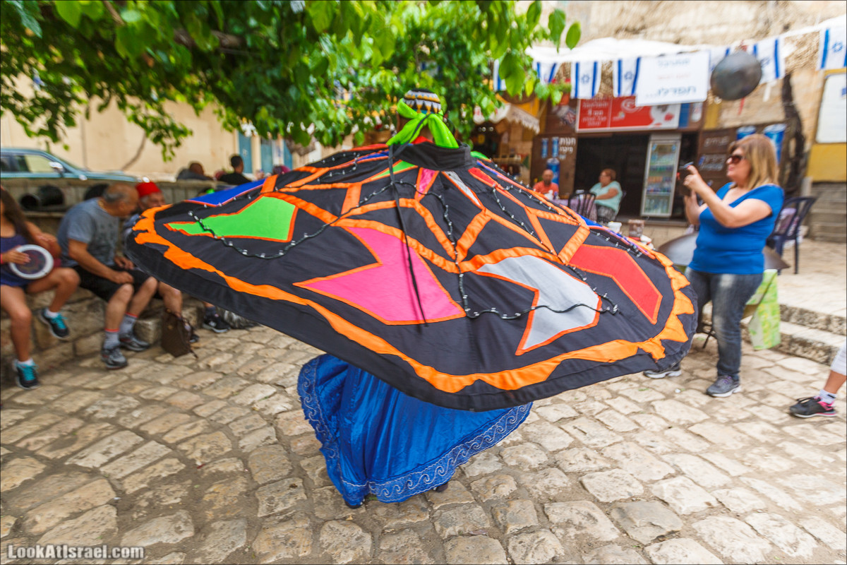 Танец дервиша. Пкиин, Израиль | Dervish dance, Pkiin, Israel | LookAtIsrael.com - Фото путешествия по Израилю