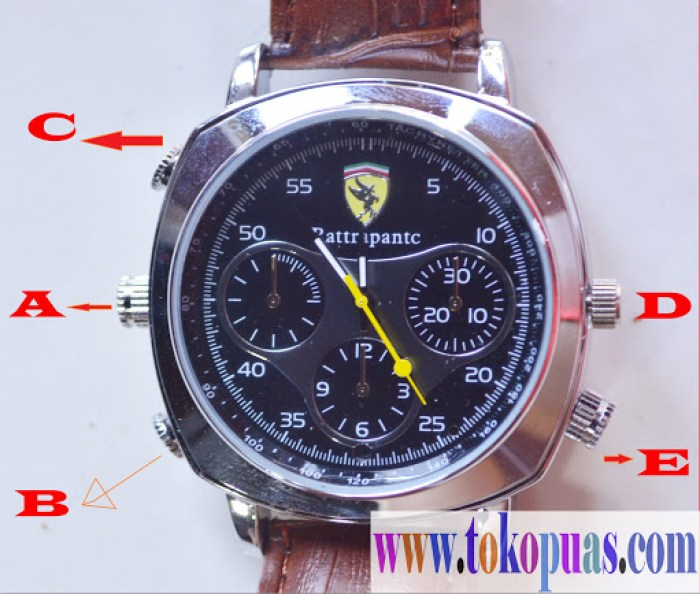 trik spy watch camera sport