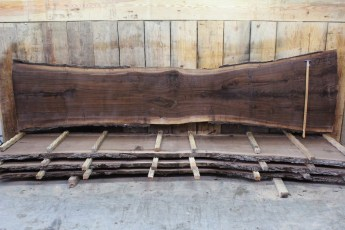 "Walnut 379-5  2"" x 37-24"" Wide x 12' Long  Kiln Dried"