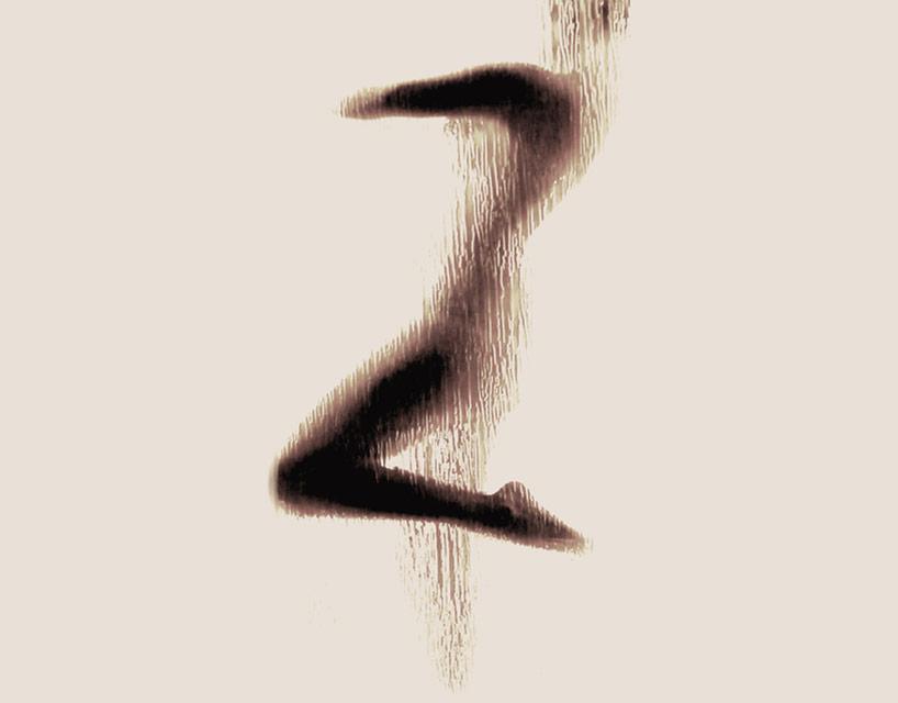 *女性裸體字母剪影:希臘藝術家Anastasia Mastrakouli 解剖人體視覺奧秘! 27