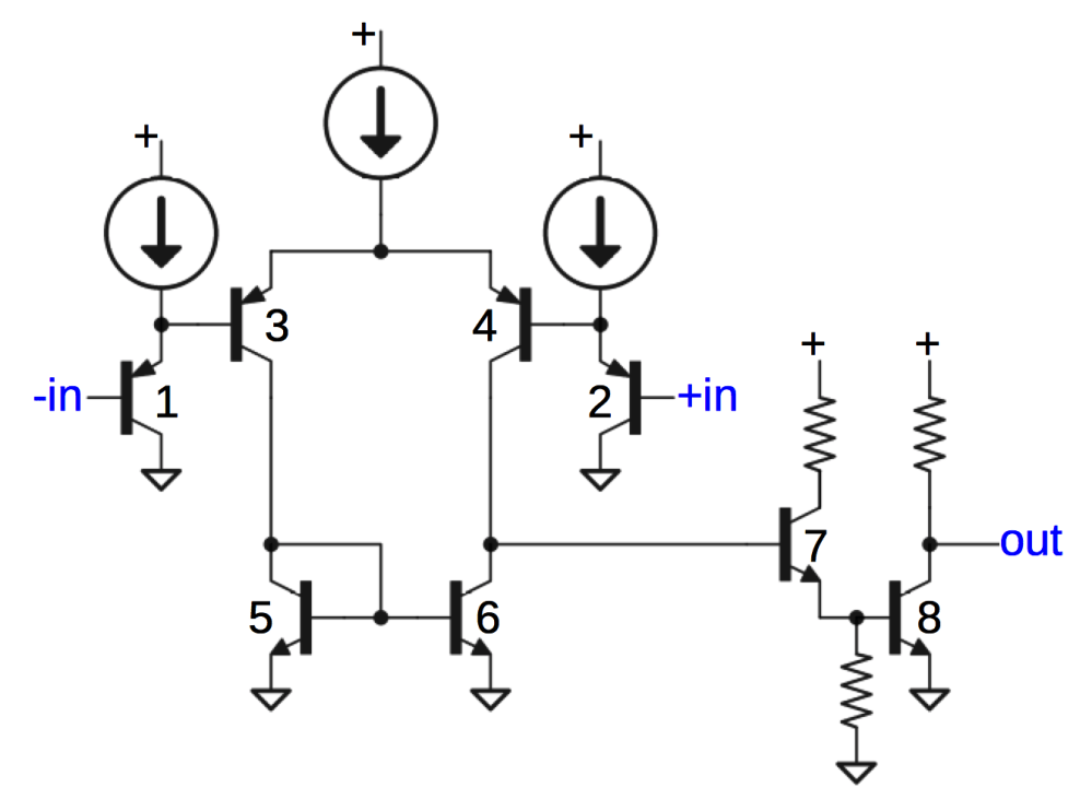 medium resolution of schematic of comparator circuit in 76477 sound chip slightly simplified