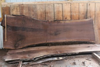 "509 Walnut -5 10/4  x  44"" x  30"" Wide x 10' Long"