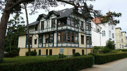 vielfältige Architektur in Zinnowitz