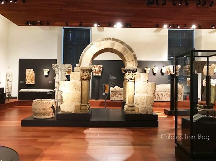 arquitectura medieval en el museo arqueológico nacional