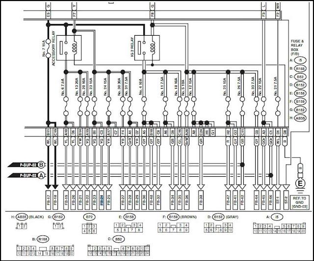 subaru sti engine diagram