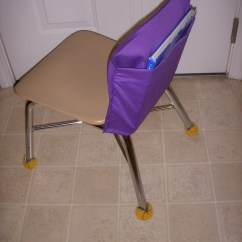 No Sew Chair Pockets Kneeling Ergonomic Review Tales Of A Teacherista The Key To Table