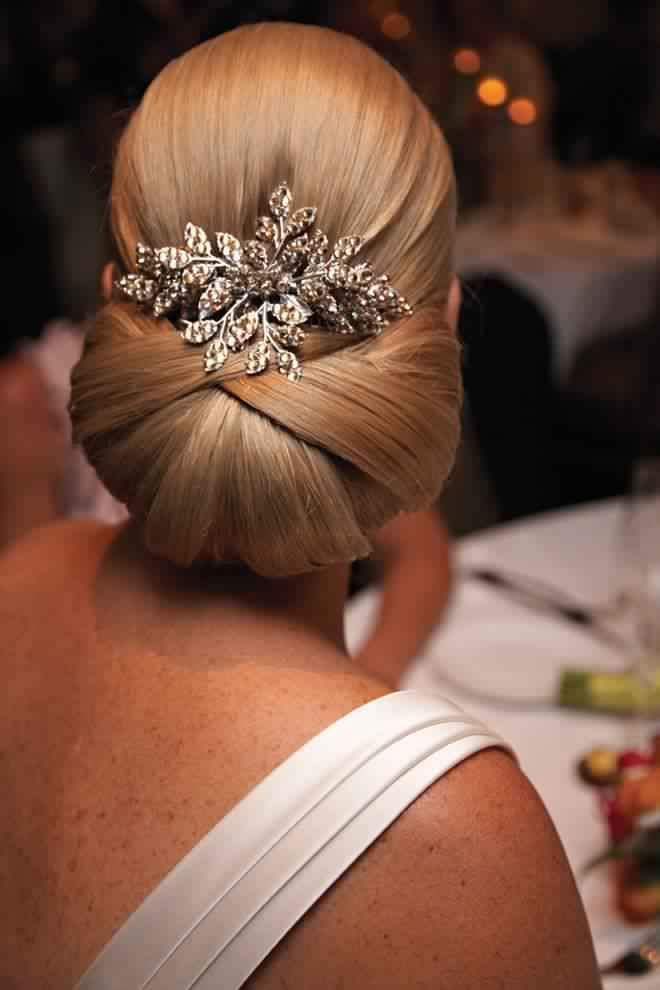 Sleek and Elegant Updo Hairstyle