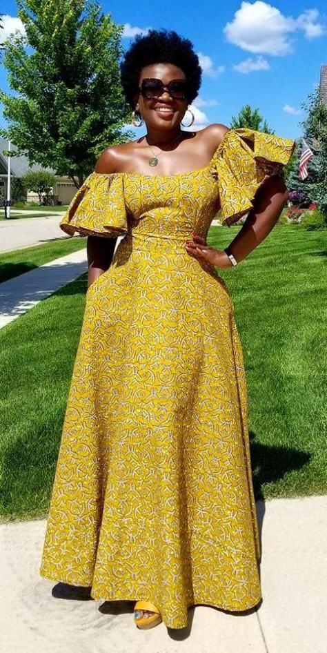 Latest Nigerian Chitenge Outfits 2020 ‹� Fashiong4
