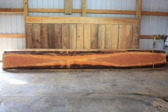 Cherry 330-1  Length 20', Max Width (inches) 22 Min Width (inches) 12 Thickness 10/4  Notes : Kiln Dried