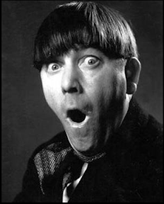 Moe Harvey from the Three Stooges doesn't have the best fringe in the world