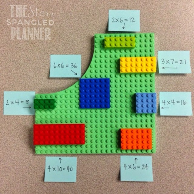 Multiplication Activity- Lego Arrays