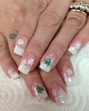 winter gel nail art design 2016