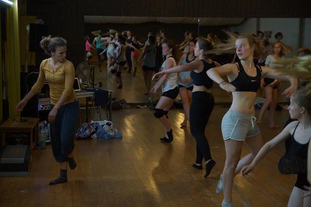 workshop dansen met Morgane