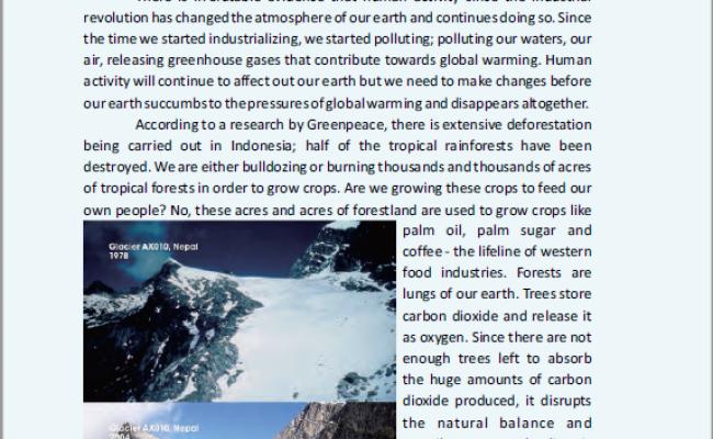 Terkini Terjemahan Teks Global Warming Chapter 4 Halaman 46