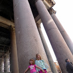 The Pantheon has such scale.