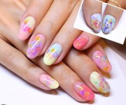 of pretty acrylic nails design