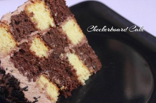 Checkerboard Cake5