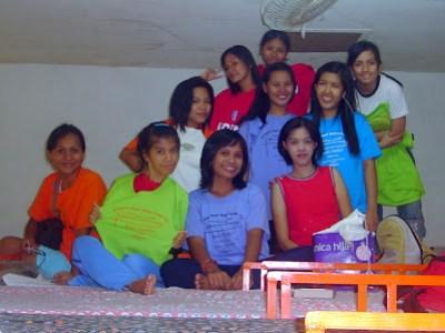 Day 3 - MCCID Girls inside the Dorm Room