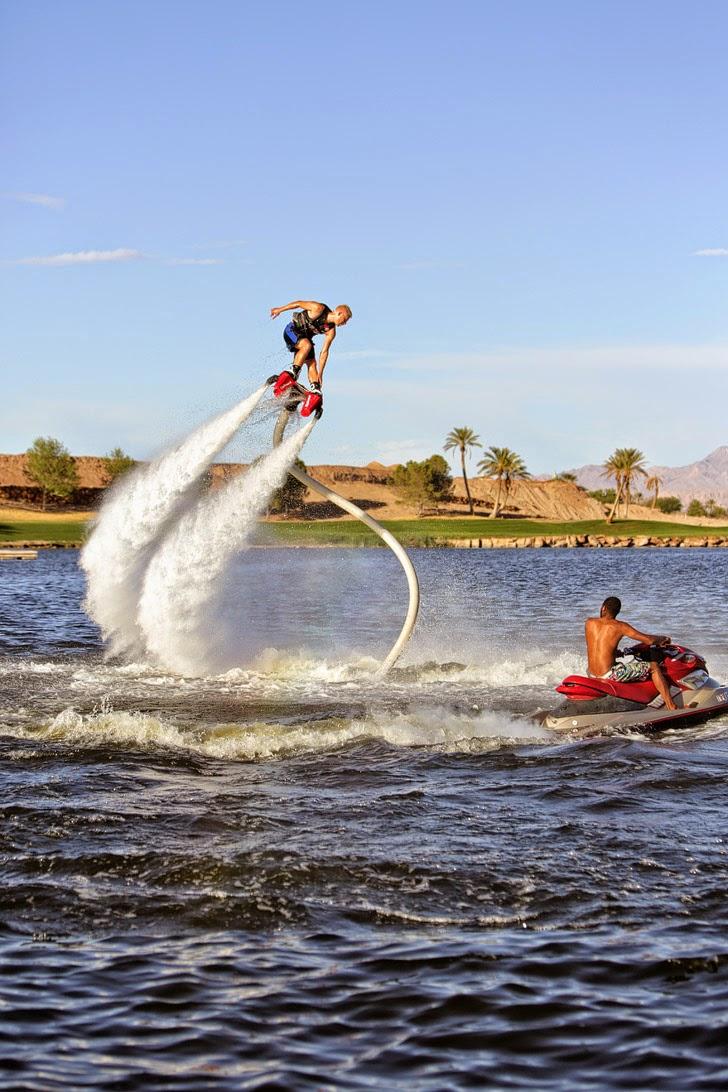 Las vegas to do list: Flyboard Las Vegas.