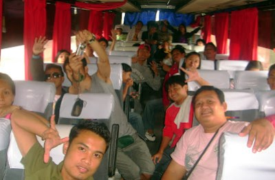 Day 5 - Home Sweet Home (photo shot inside the Bataan Bus)