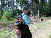 Geocaching im Knyphauser Wald