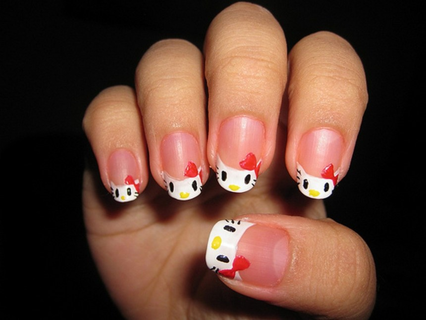 Newest Hello Kitty Nail Art Designs Reny Styles