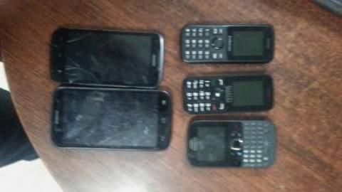 Celulares usados por los criminales, violadores e ilegales haitianos.