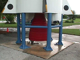 2080Delta Launch Vehicle Plaque