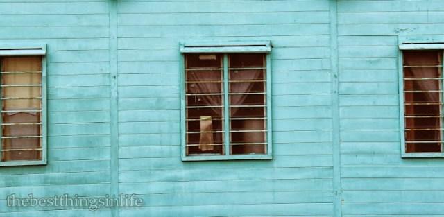 Old wooden house, Pulau Ketam