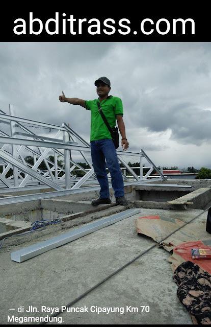 aplikator baja ringan jambi rangka atap di bogor jawa barat