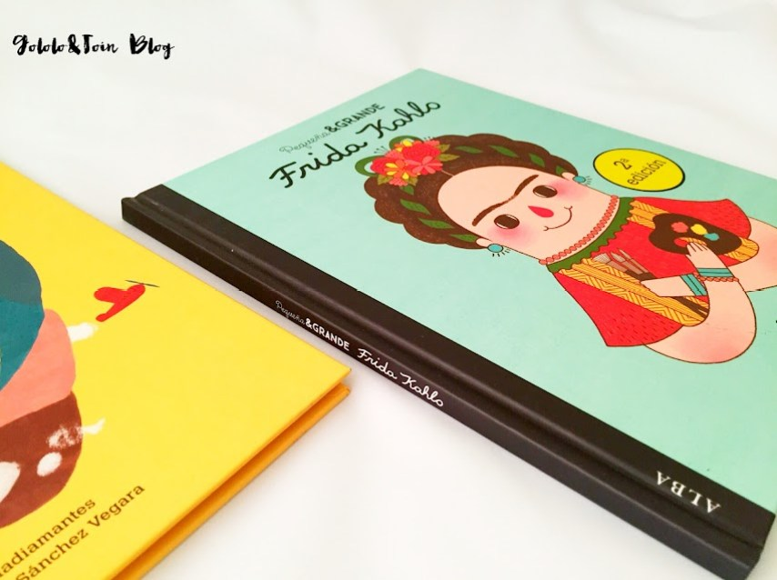 Frida-kahlo-literatura-infantil-biografías-mujeres-cuentos-editorial-alba-pequeña-y-grande
