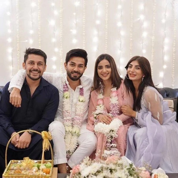 Ali Ansari And Saboor Ali got Engaged