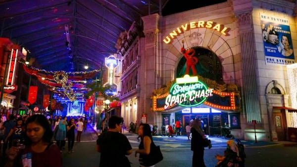Singapore Universal Studios Space Chase 新加坡環球影城