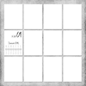 Project Life 2016 Template Original
