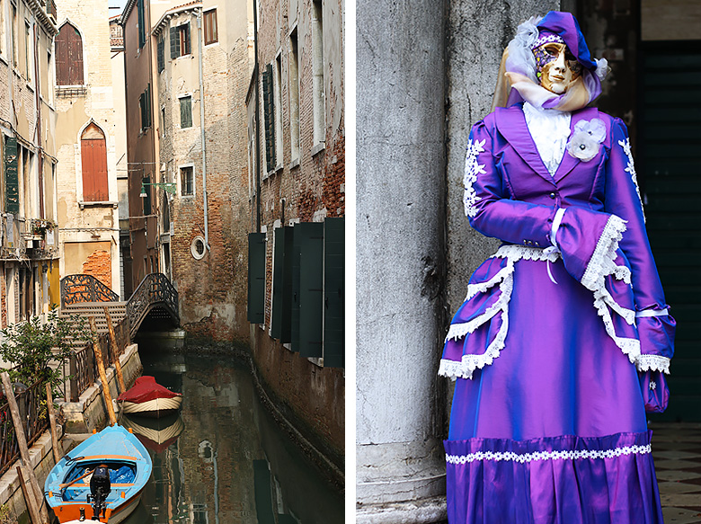 Le Carnaval d'Hiver de Venise.
