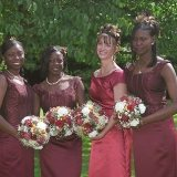 african wedding-bridesmaid dresses 2015