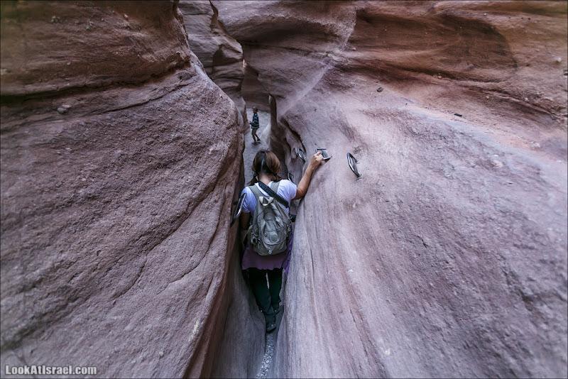Красный каньон и вади Шани