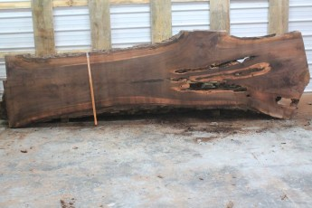 Walnut 216-3  Length 12' Max Width (inches) 41 Min Width (inches) 24 Notes 10/4 Kiln Dried