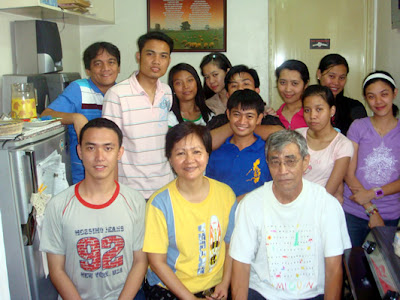 February 7: Lendl Pozzolo Penaranda with Parents (Quezon City)