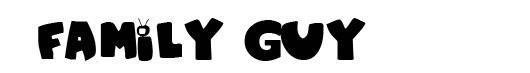 Family Guy logo font