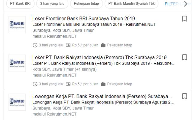 Lowongan Kerja Terbaru Bri Life Surabaya Agustus Tahun Cute766