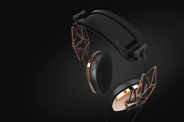 *TEAGUE:「20/20 Concept headphone」 支架概念耳機 2