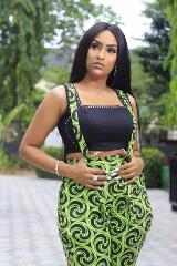 Juliet Ibrahim Steps Out Looking Gorgeous For Glo Event In Abuja(PHOTOS)